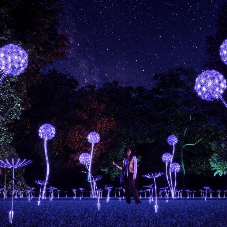 NightGarden at Fairchild Botanical Garden in Miami