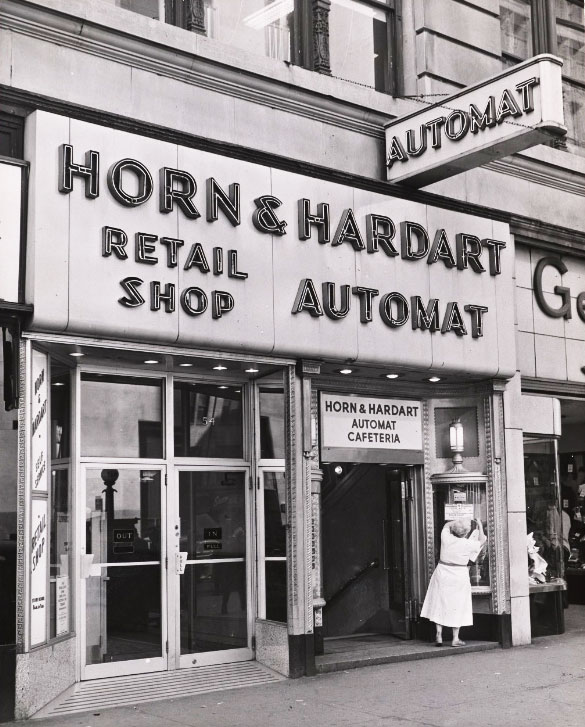 The Horn and Hardart Automat in New York