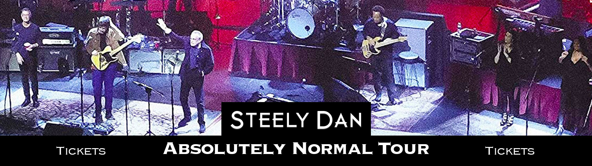 Ad for Steely Dan live album