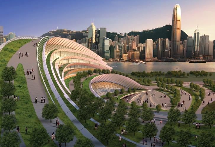 West Kowloon train station