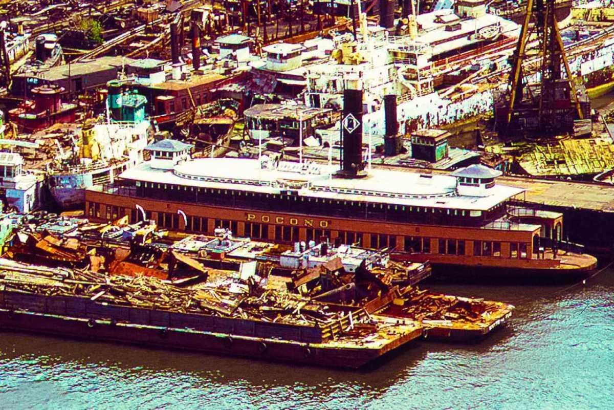 Arthur Kill Ship Graveyard